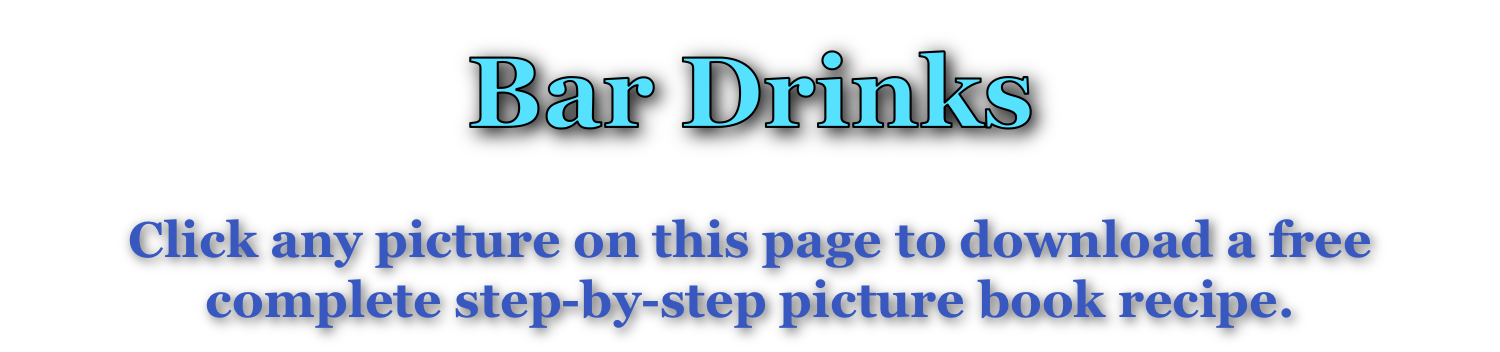 Bar Drinks page title