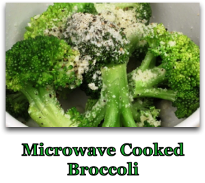 Microwave Cooked Broccoli