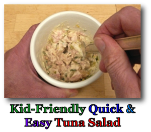 Kid-Friendly Quick & Easy Tuna Salad