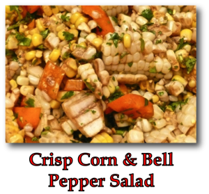 Crisp Corn & Bell Pepper Salad