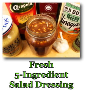Fresh 5-Ingredient Salad Dressing