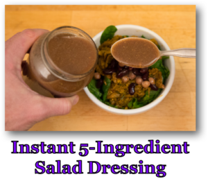 Instant 5-Ingredient Salad Dressing