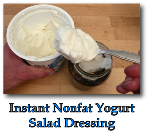 Instant Nonfat Yogurt Salad Dressing