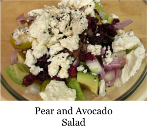 Pear & Avocado Salad
