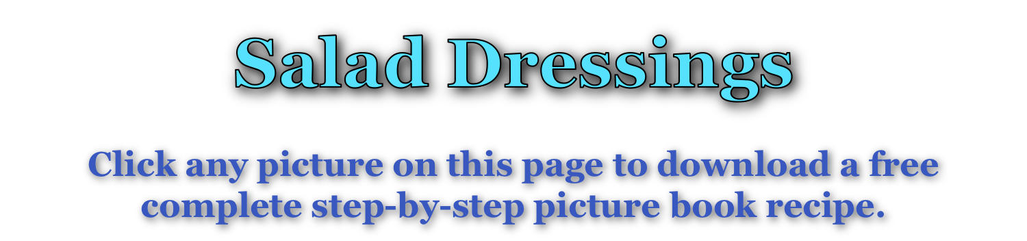 Salad Dressing page title