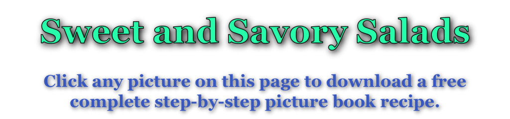 Sweet & Savory page title