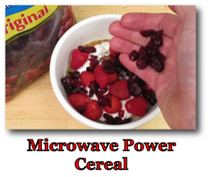 Microwave Power Cereal
