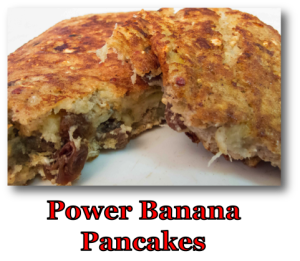 Power Banana Pancakes