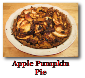 Apple Pumpkin Pie