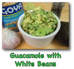 Guacamole with White Beans