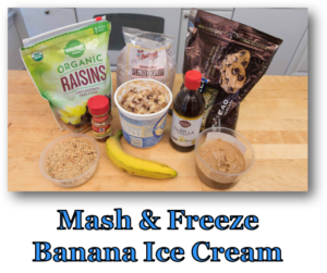 Mash and Freeze Banana Ice Cream