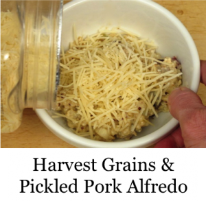 Harvest Grains & Pickled Pork Alfredo