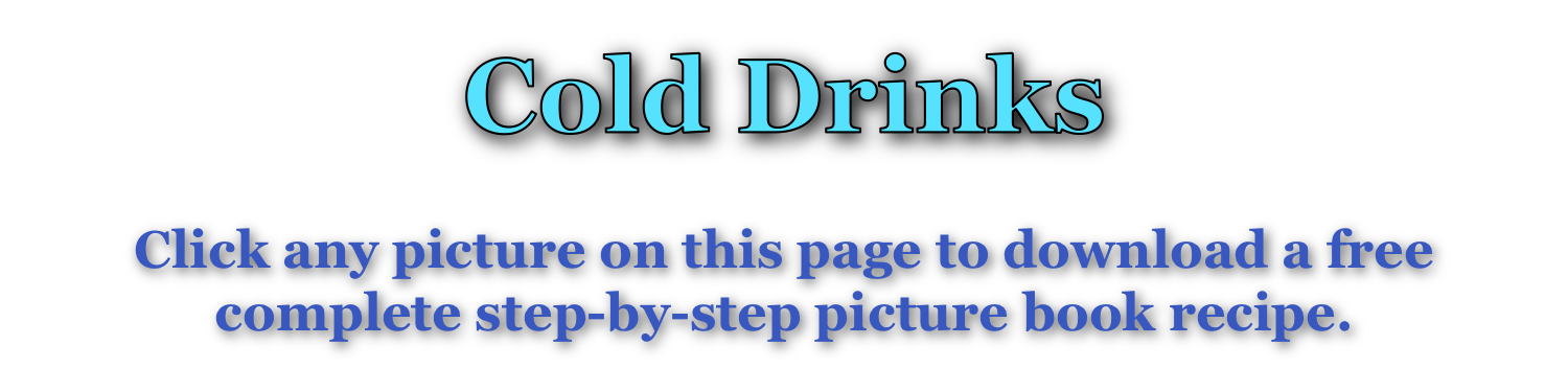 Cold Drinks page