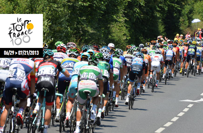 Click for a link to the official Tour de France site