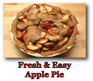 Fresh & Easy Apple Pie