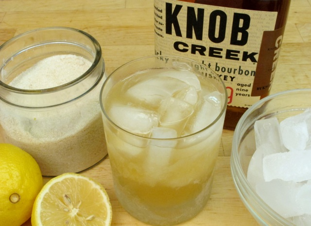 Whiskey (Bourbon) Sour - click for picture book recipe