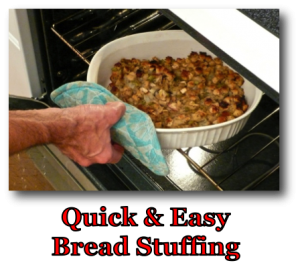 Quick & Easy Bread Stuffing