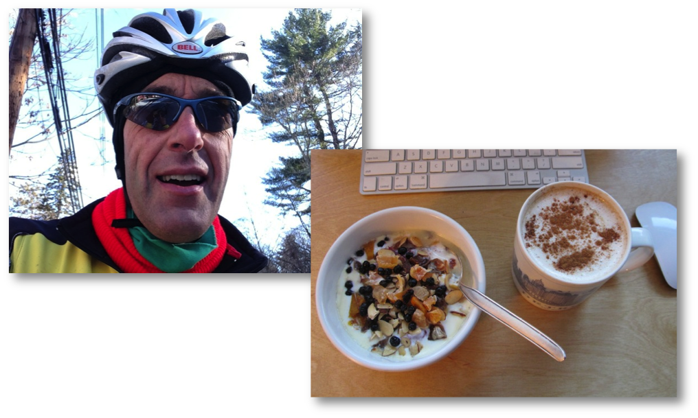 Dressing & Eating Right for Winter Rides