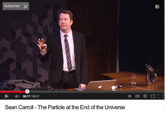 Sean Carroll: The Particle at the End of the Universe
