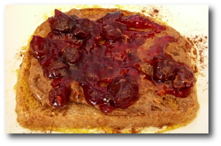 French Toast with Nut Butter & Jam