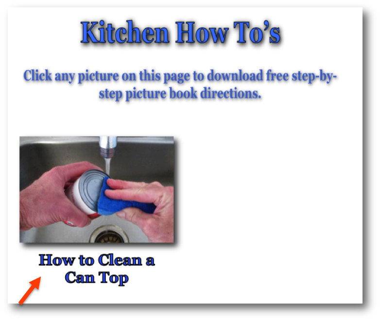 How to Clean a Can Top photo