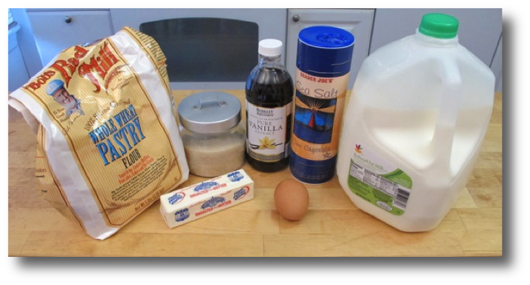 Crepes Made Easy ingredients