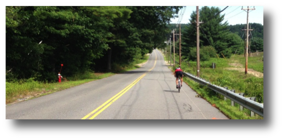 Ken Kolbe rippin' it toward Wachusett Mountain