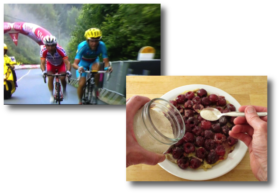 Stage 10 win & cherry pancake
