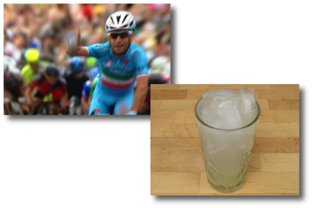 Stage 2 Tour De France Winner and Tom Collins