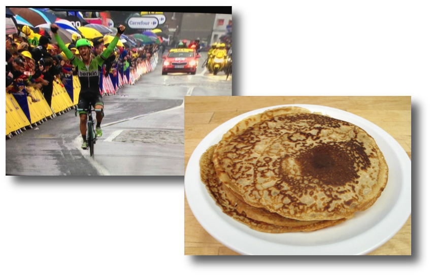 Stage 5 win & crepes made easy