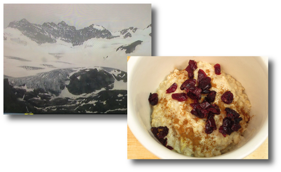 Tour de France mountains & rice pudding