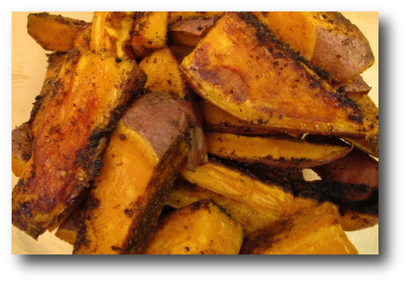 ... richly nutritious, and easy to make oven roasted sweet potato fries