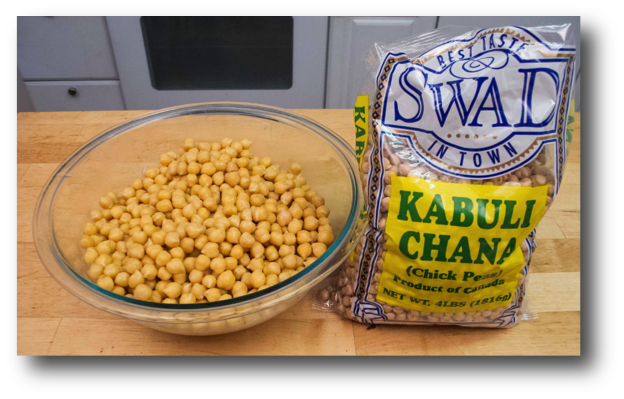 Cooked Garbanzo Beans (Chickpeas)