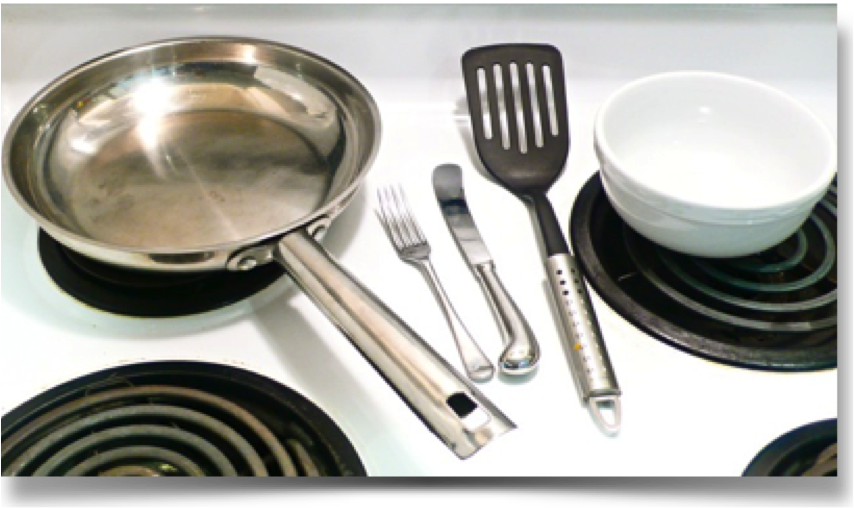 Quick & Easy Stove Cooked Omelet Equipment