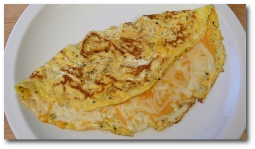 Quick & Easy Stove Cooked Omelet