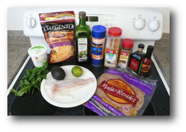 Quick and Easy Fish Tacos Ingredients