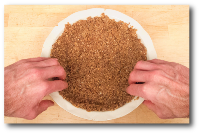 Nut, Quinoa & Flaxseed Pie Crust