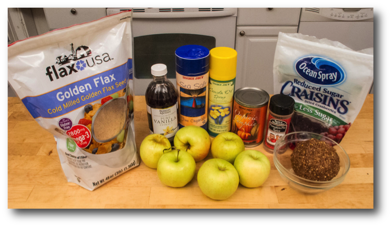 Apple Pumpking Pie Ingredients
