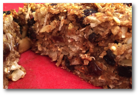 Banana Nut Butter Power Bars
