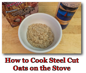 How to Cook Steel Cut Oats on the Stove