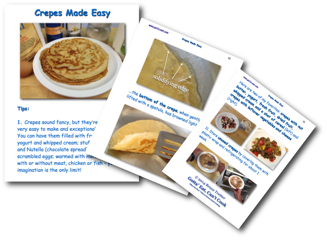 Crepes Made Easy Picture Book Recipe