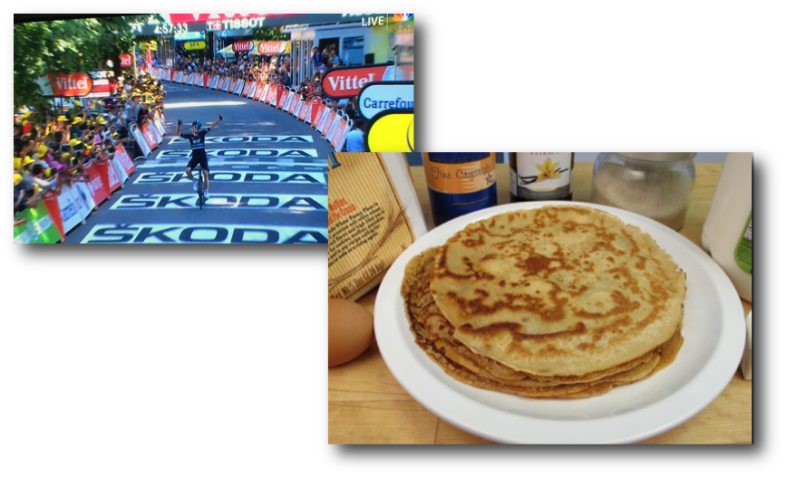 Froome Takes Yellow & Crepes Made Easy