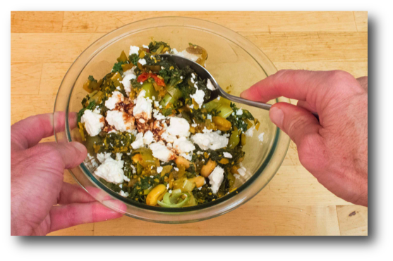 kale-teriyaki-with-feta-cheese